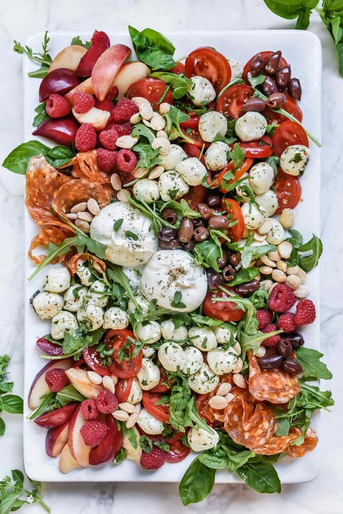 How to Make a Caprese Salad Platter | foodiecrush.com