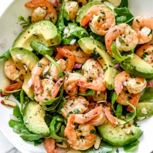 Citrus Shrimp and Avocado Salad | foodiecrush.com