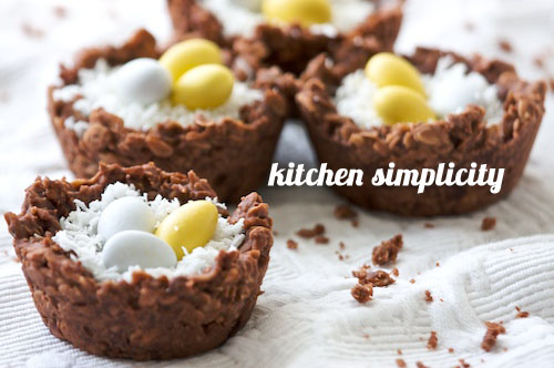 FoodieCrush Kitchen Simplicity No Bake Easter Cookie