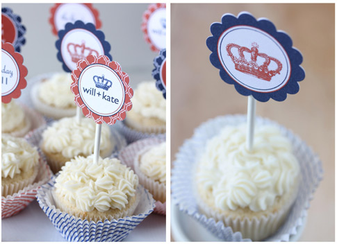 FoodieCrush Magazine With Style and Grace Champagne Cupcakes