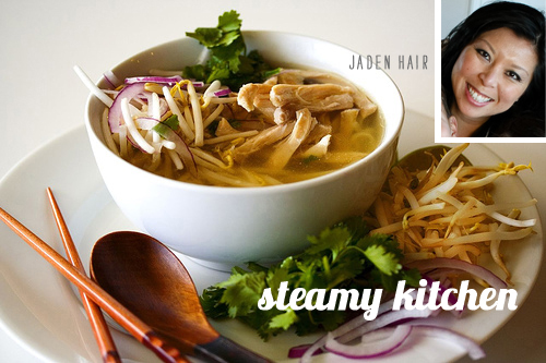 FoodieCrush Steamy Kitchen Vietnamese Chicken Noodle Soup