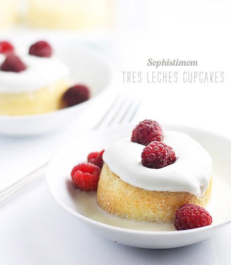 FoodieCrush Magazine Sophistimom Tres Leches Cupcakes
