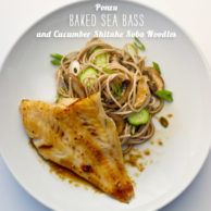 FoodieCrush magazine Ponzu Baked Sea Bass