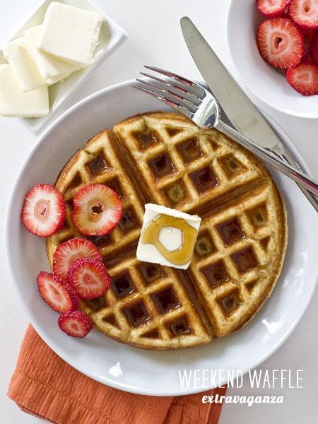 FoodieCrush Magazine Waffle