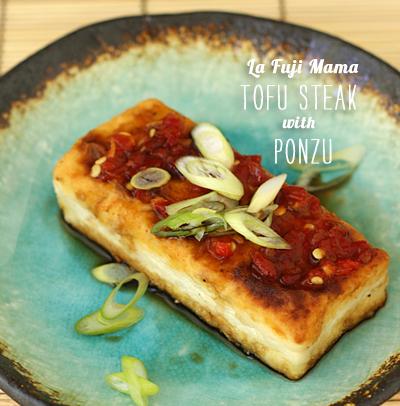 FoodieCrush magazine La Fuji Mama Tofu Steak
