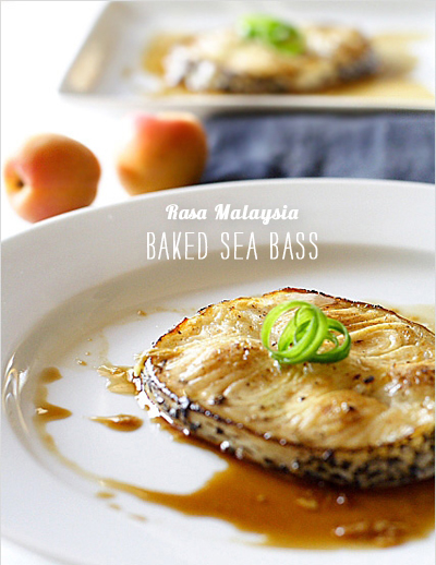FoodieCrush magazine Rasa Malaysia Baked Sea Bass