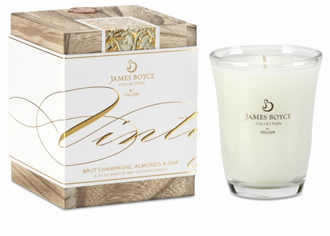 FoodieCrush Magazine Voluspa James Boyce Candle