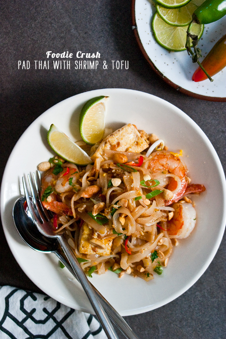 FoodieCrush Magazine Pad Thai