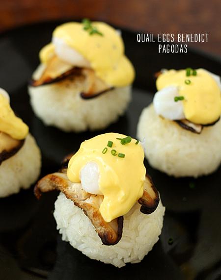 FoodieCrush Magazine La Fuji Mama Eggs Benedict Pagoda