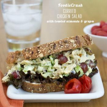 FoodieCrush Magazine Curried Chicken Salad