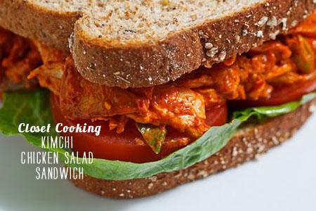 FoodieCrush magazine Closet Cooking Kimchi Chicken Salad