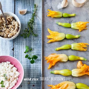FoodieCrush Magazine Tartelette Squash Blossoms