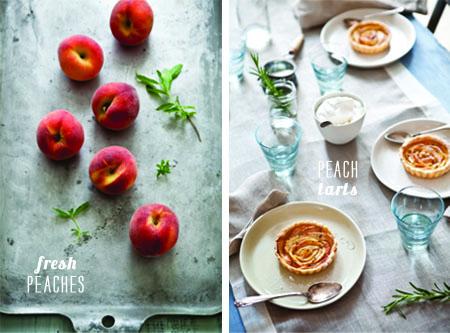 FoodieCrush Magazine Tartelette Peaches