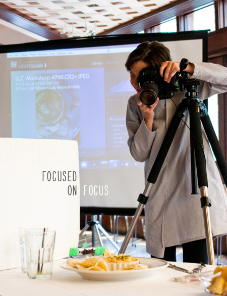 FoodieCrush Magazine Plate to Pixel Photo Workshop