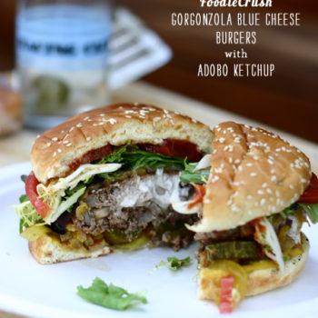 FoodieCrush Magazine Blue Cheese Burger