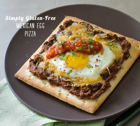 FoodieCrush Magazine Simply Gluten-Free Mexican Breakfast Pizza