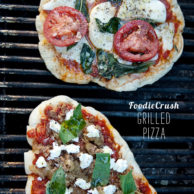 FoodieCrush Magazine Grilled Pizza