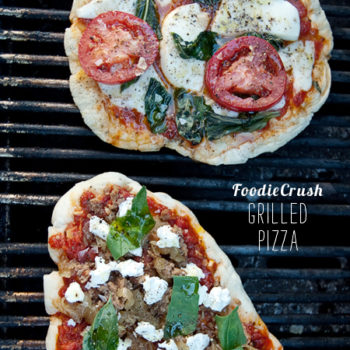 FoodieCrush Magazine Grilled Pizza