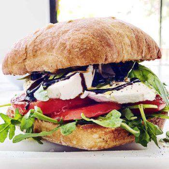THE BEST Caprese Sandwich | foodiecrush.com