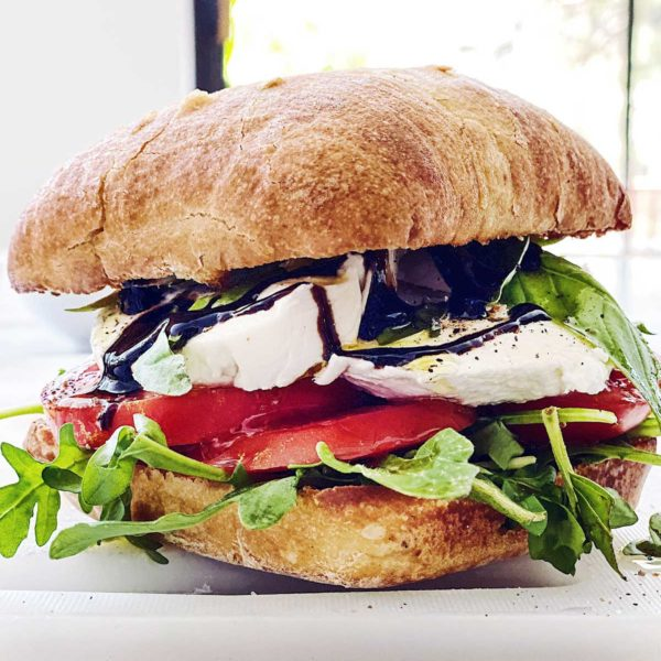 THE BEST Caprese Sandwich | foodiecrush.com