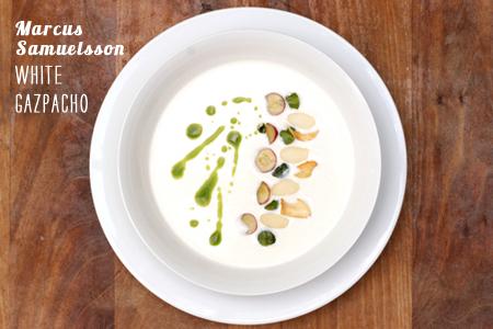 Foodie Crush Magazine Marcus Samuelsson White Gazpacho