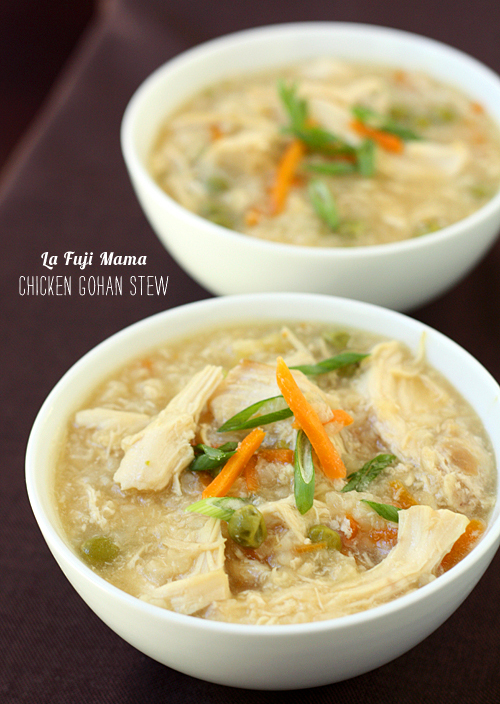 FOodieCrush Magazine La Fuj Mama Chicken Gohan Stew