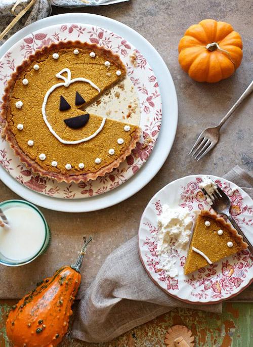 FoodieCrush Family Fresh Cooking Gluten Free Pumpkin Pie