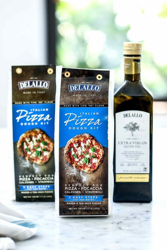 DeLallo Pizza Dough Kit | foodiecrush.com