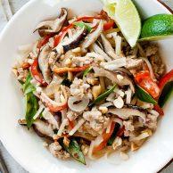 Thai Basil Chicken   foodiecrush.com