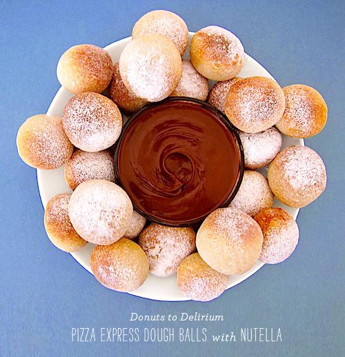 FoodieCrush Donuts to Delirium Pizza Express Dough Balls