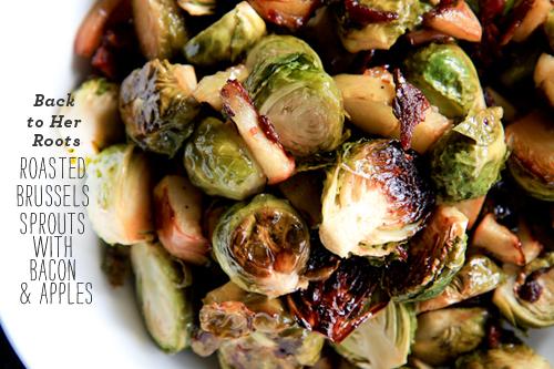 FoodieCrush Back to Her Roots Choux de Bruxelles rôtis