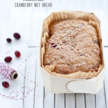 FoodieCrush Cranberry Nut Bread
