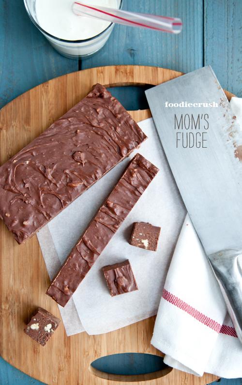 The Best Homemade Fudge | foodiecrush.com