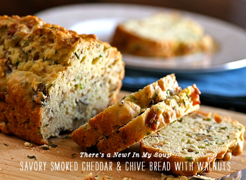 FoodieCrush Newf In My Soup Savory Cheddar Bread