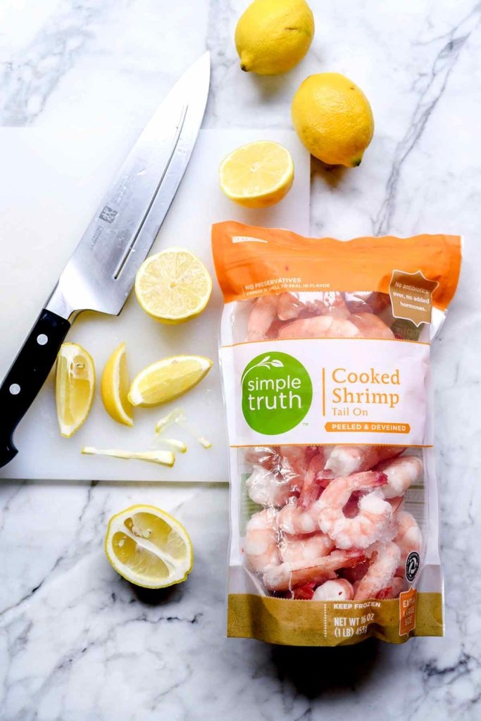 Kroger Simple Truth Shrimp | foodiecrush.com