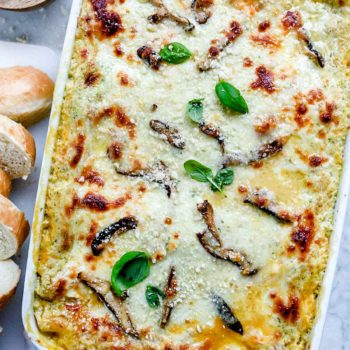 Butternut Squash and Mushroom Lasagna | foodiecrush.com #lasagna #easy #vegetarian #recipe