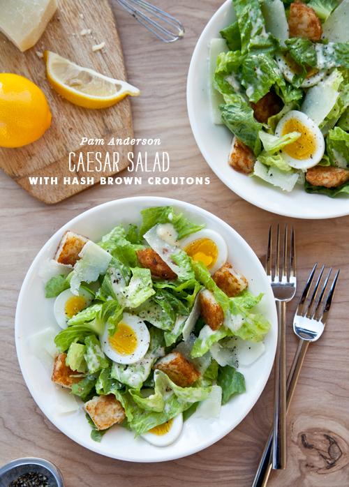 FoodieCrush Three Many Cooks Caesar Salad
