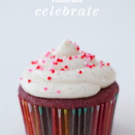 Red Velvet Cupcakes with Cream Cheese Frosting   foodiecrush.com