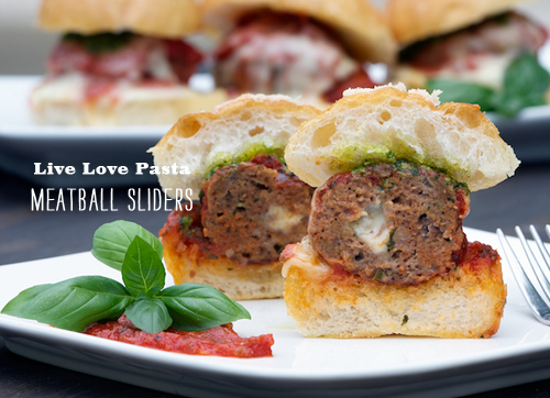 Foodie Crush Live Love Pasta Meatball Sliders