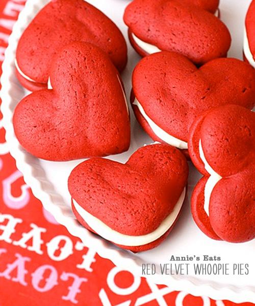 Foodie Crush Annies Eats Red Velvet Whoopi Pies