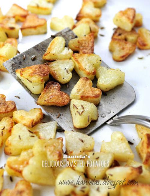 Foodie Crush Haniela Potatoes