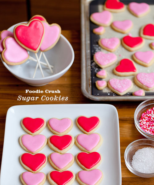 Foodie Crush Sugar Cookies
