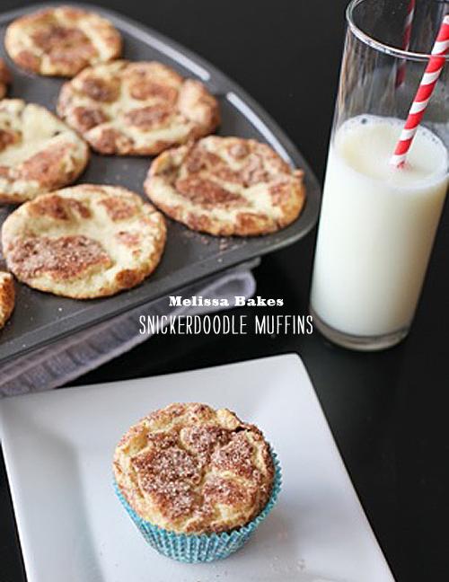 Foodie Crush Melissa Bakes Snickerdoodle Cupcake