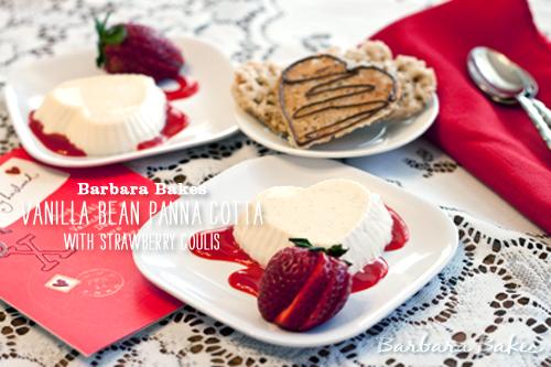 Foodie Crush Barbara Bakes Vanilla Pana Cotta
