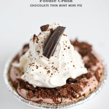 Foodie Crush Chocolate Pie