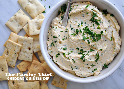 Foodie Crush The Parsley Thief Cheese Guiness Dip