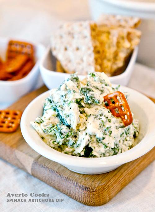 Foodie Crush Averie Cooks Spinach Artichoke Dip