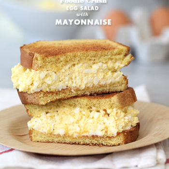 Egg Salad Sandwich | foodiecrush.com