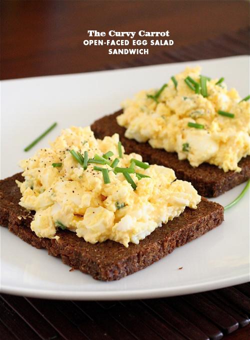 Foodie Crush Curvy Carrot Egg Salad