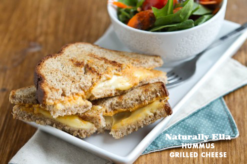 Foodie Crush Naturally Ella Hummus Grilled Cheese